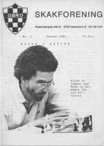 Klubblad fra januar 1981