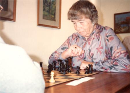 Gerda Andreasen, 1994 Ved ØBROs klubmesterskab for veteraner